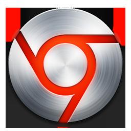 Chrome Icon - Red/Steel by jrathage on deviantART
