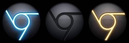Chrome Icon Black MkII