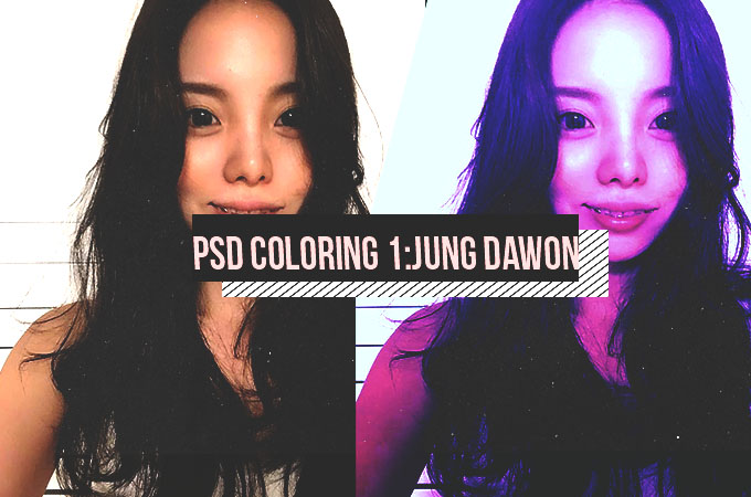 PSD Coloring 1|Jung Dawon by XMinamiPandaX on DeviantArt