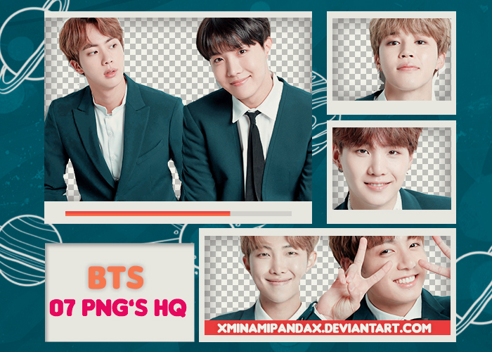 Pack Png 252 // BTS (FanCafe Birthday Episodes) by XMinamiPandaX on
