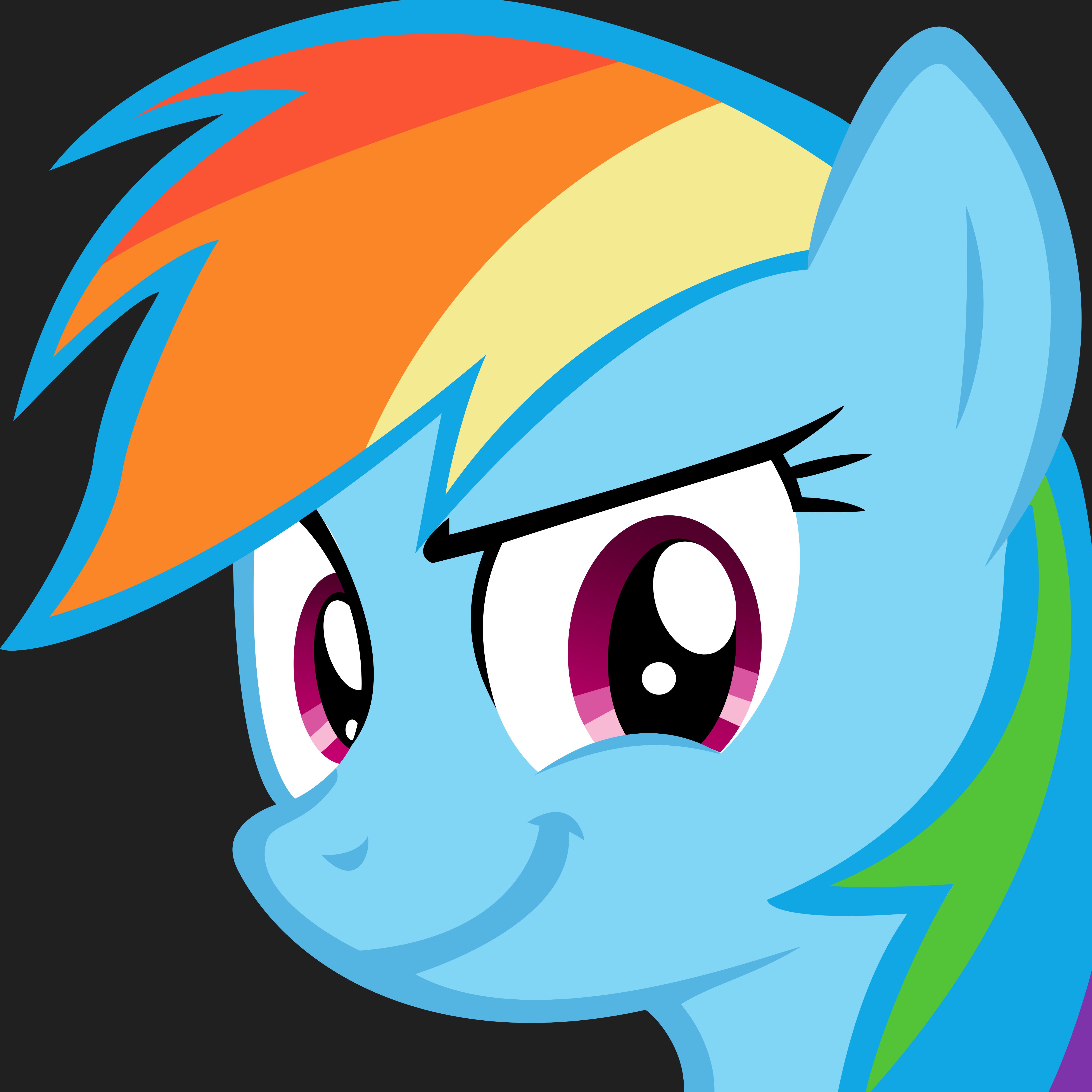Oh yeah Rainbow Dash by danspy1994 on DeviantArt | 5000 x 5000 png 644kB