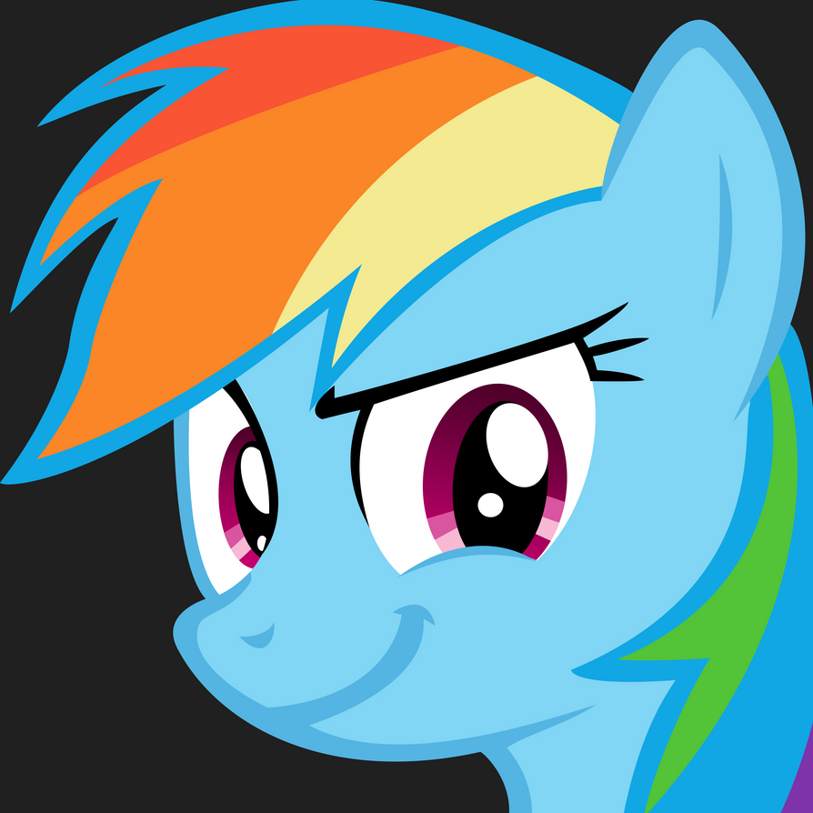 Oh yeah Rainbow Dash by danspy1994