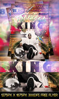 FREE PSD TROPICAL KING FLYER