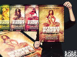 FREEMIUM artwork party flyer psd