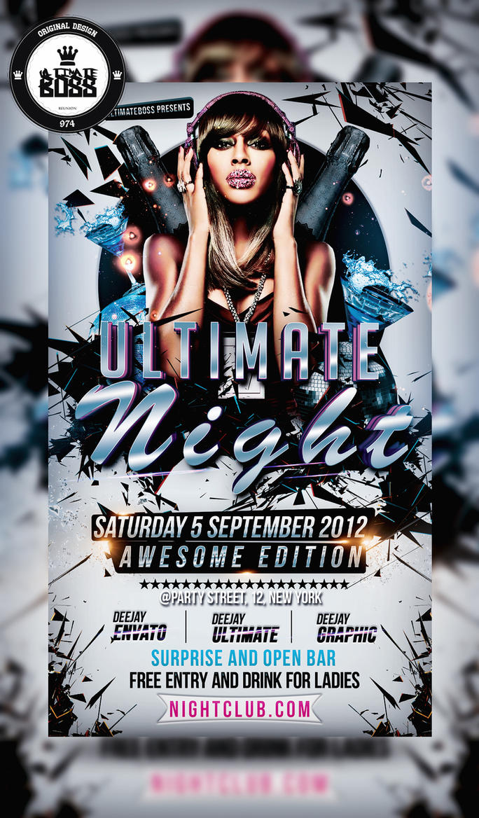 Freemium psd ultimate night flyer by ultimateboss on deviantart freemium psd ultimate night flyer by ultimateboss saigontimesfo