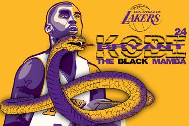 The Black Mamba - Kobe Bryant by krkdesigns