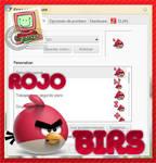 CURSOR ANGRY BIRDS ROJO