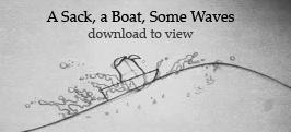 Wave, Boat, Sack by Plushpenguin