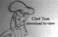 Chef Lift + Toss by Plushpenguin