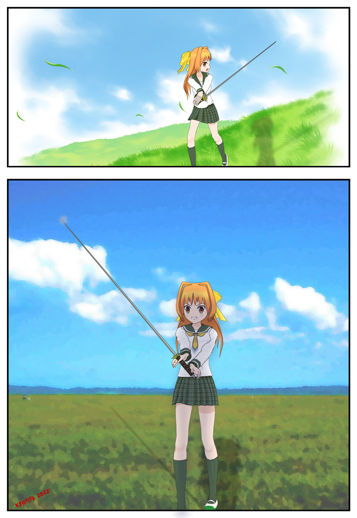 Comi-po Sword 1 download by Kyotita