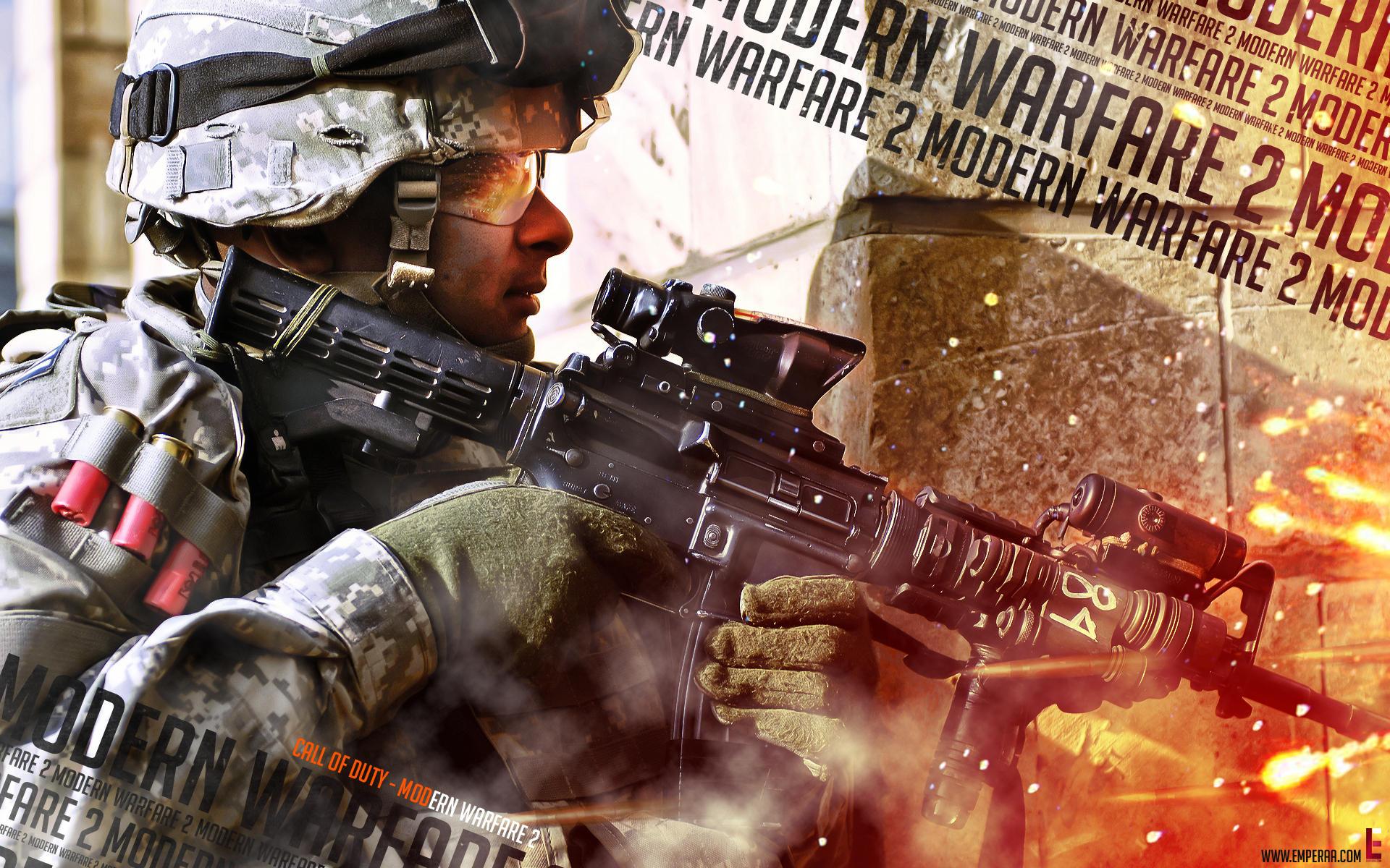 Modern Warfare 2 Wallpack by emperaa