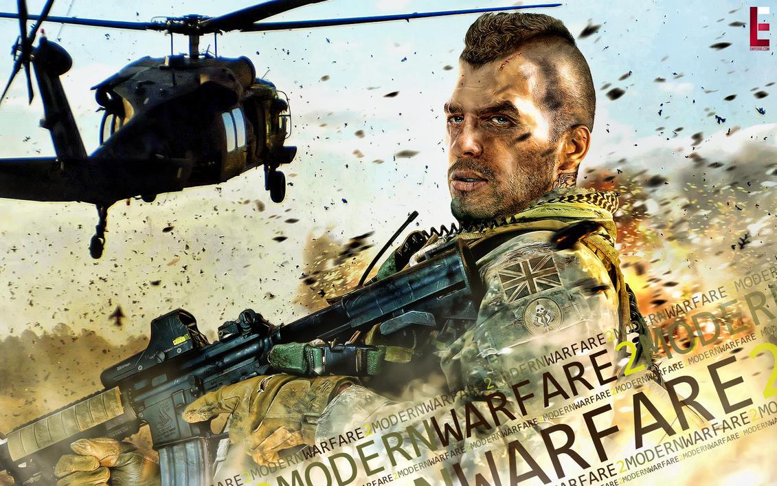 Modern Warfare 2 - Soap by emperaa