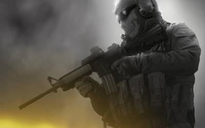 Modern Warfare 2 - Ghost by emperaa
