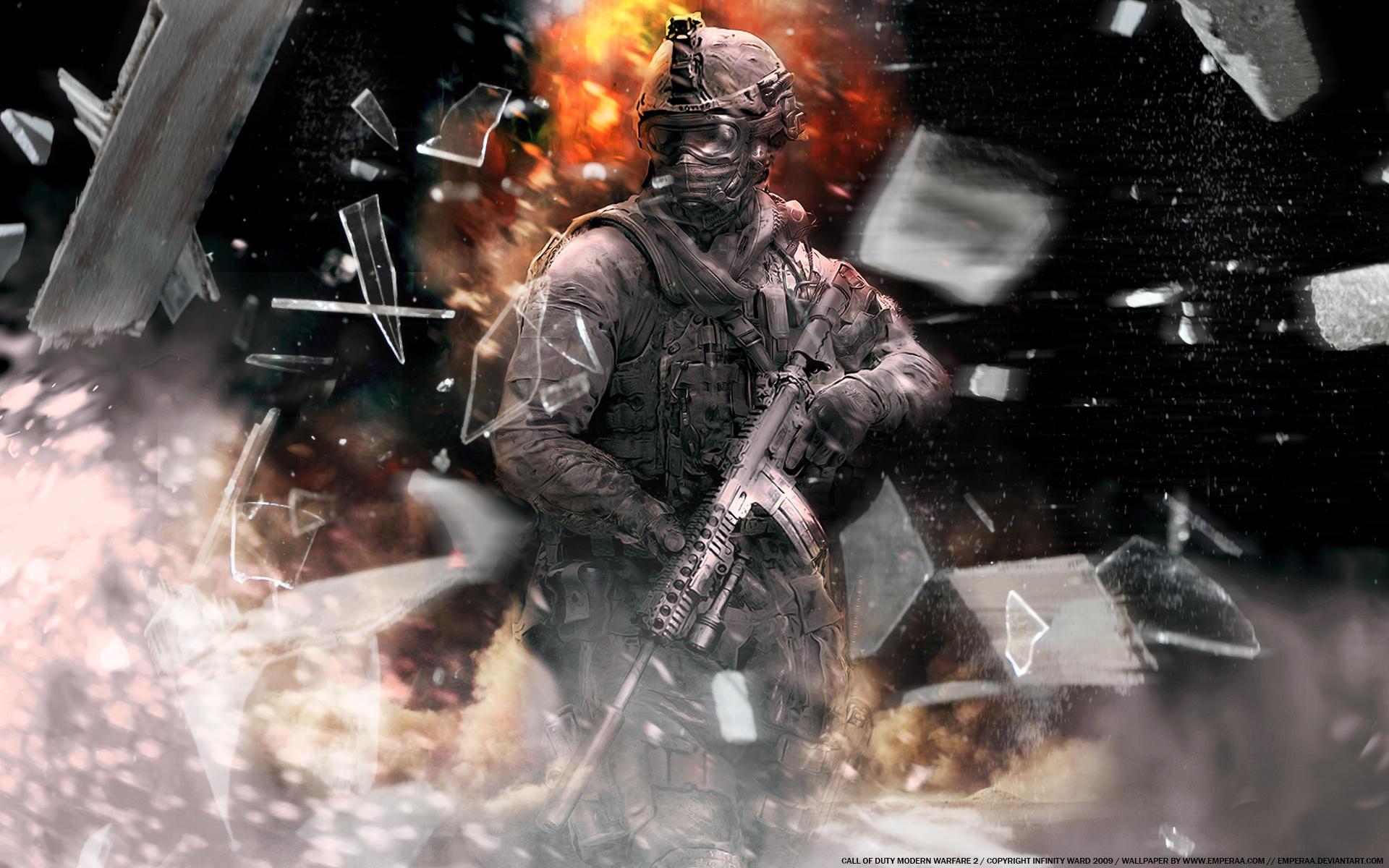 Modern Warfare 2 - Explosion by emperaa