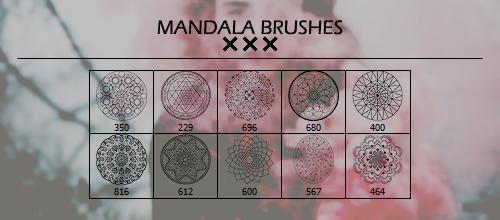 Mandala Brushes.