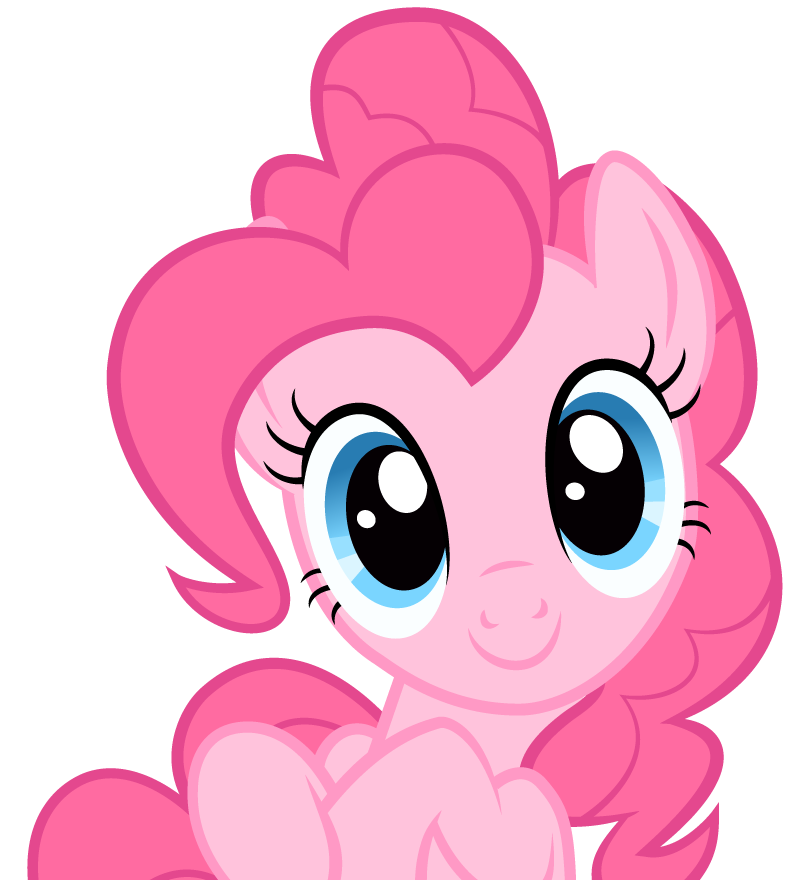 Pinkie Pie by punchingshark