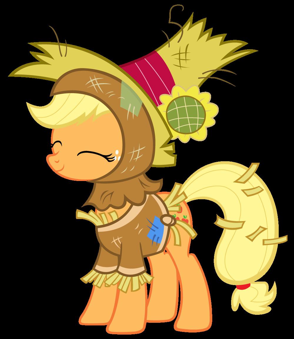 Applejack scarecrow costume