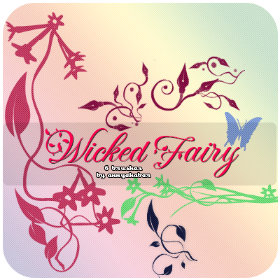 Wicked Fairy Brushes by annyehaber
