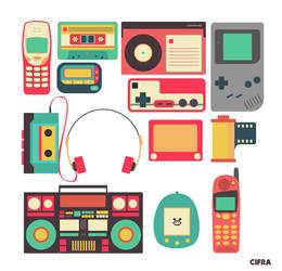 Retro Technology Illustrations (1908-1999) 02