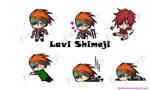 Lavi Shimeji Edited