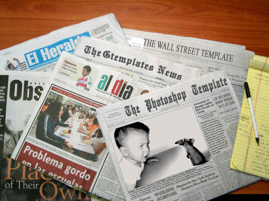newspaper template by wildsway18 on deviantart