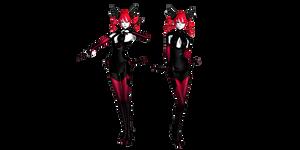 MMD Crimson Death Teto DL
