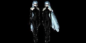 MMD Shadowlady Nona DL