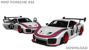 MMD Porsche 935 DL