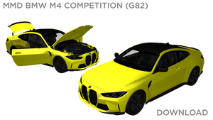 MMD BMW M4 Competition 2021 DL