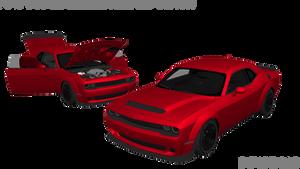 MMD Dodge Challenger SRT Demon DL