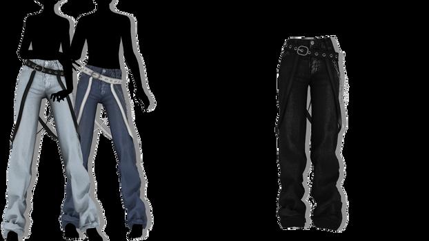 MMD - Sims 4 Psychosocial Pants