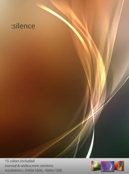 :silence wallpaper pack