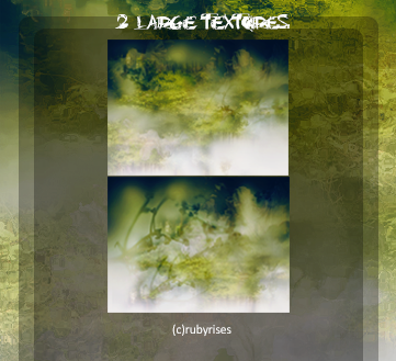2 Large Textures set SPRING ver.2 by RubyRises