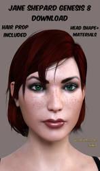 Jane Shepard Genesis 8 DOWNLOAD *UPDATED*