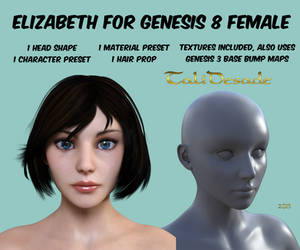 Elizabeth for Genesis 8 DOWNLOAD
