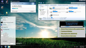 Sapphire Theme for Windows 7