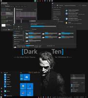 DarkTen - An Ideal Windows 10 Visual Style/Theme