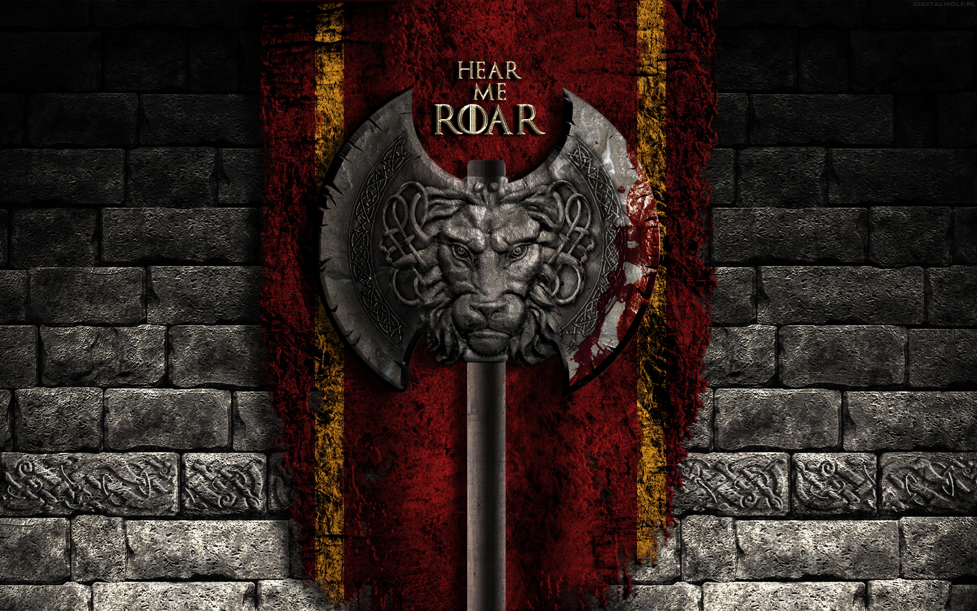 Game Of Thrones Wallpaper House Lannister By Digitalwolf Pl On
