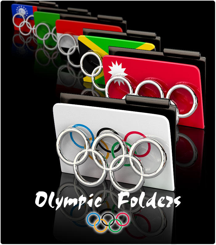 Olympic Folders by DARIMAN