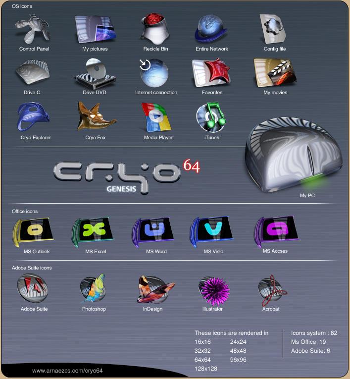 CRYO64 - Genesis 2 by DARIMAN