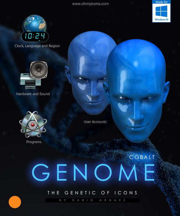 Genome Cobalt by DARIMAN
