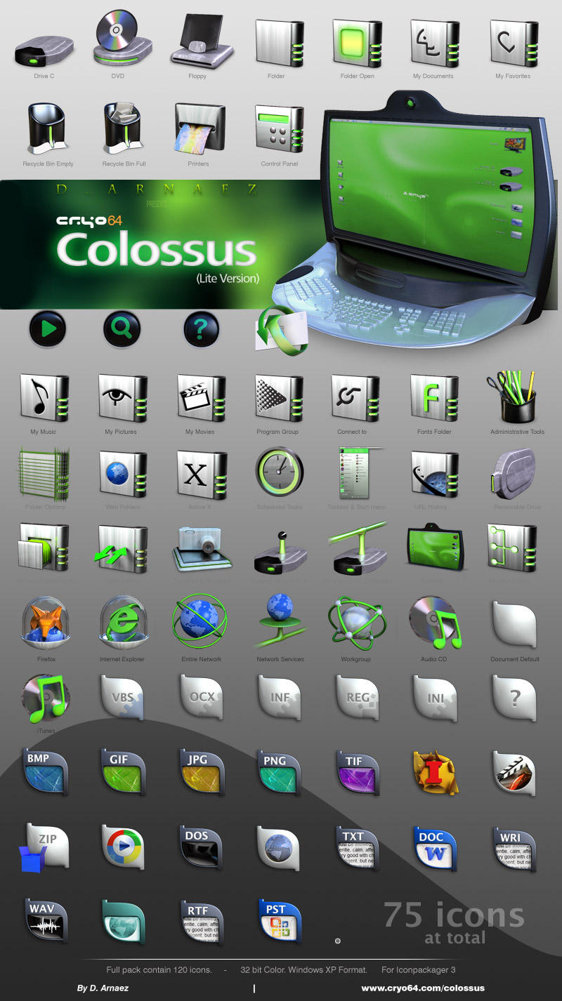 CRYO64 - Colossus by DARIMAN