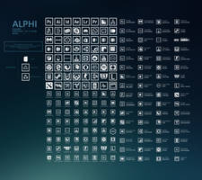 ALPHI icon pack v1.3 by Ecstrap