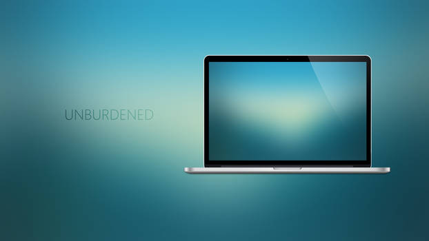 UNBURDENED - Coloured Expression Wallpapers