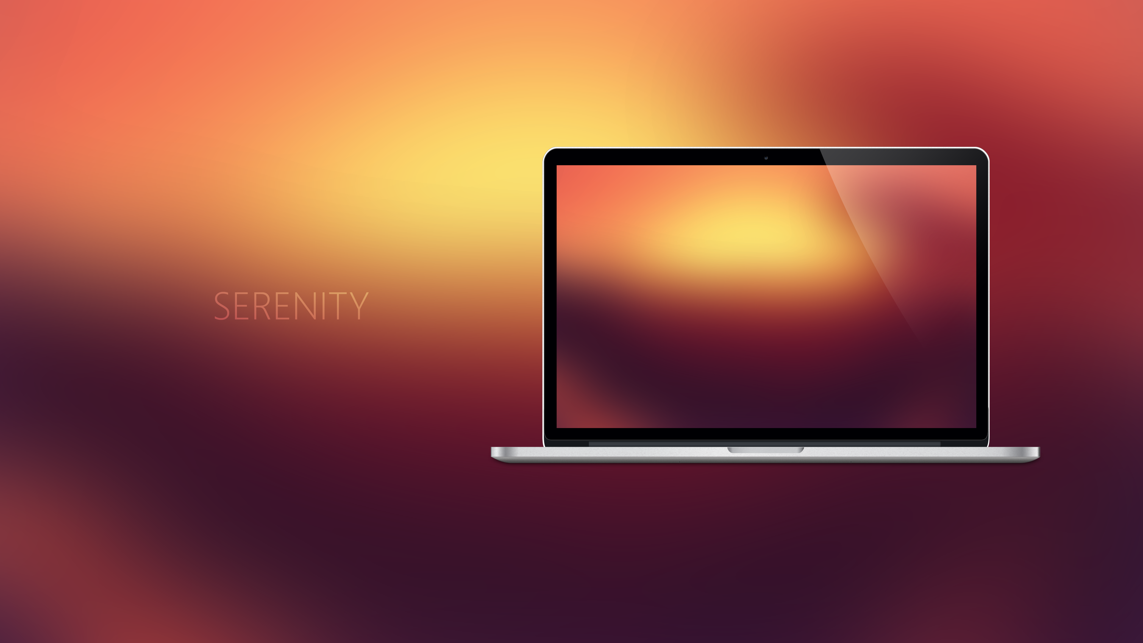SERENITY - Coloured Expression Wallpapers