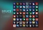 BRUCE icon pack v1.0