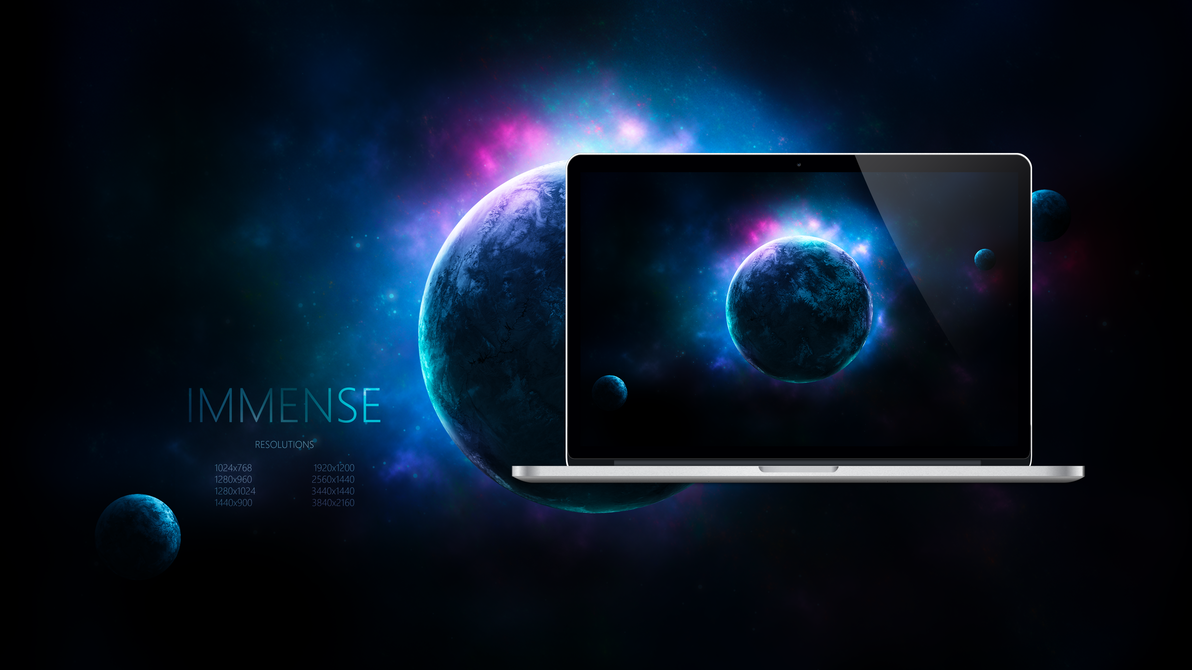 IMMENSE - Spaced Out Wallpapers by Ecstrap
