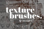Texture Brushes - ancient book text and art