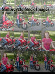 Stock: Motorcycle Chick