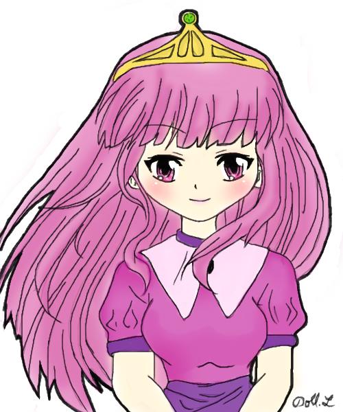Anime Adventure Time Princesses